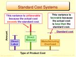 standard cost systems2
