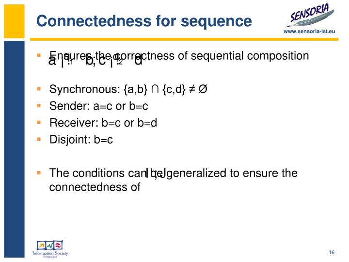 Connectedness for sequence