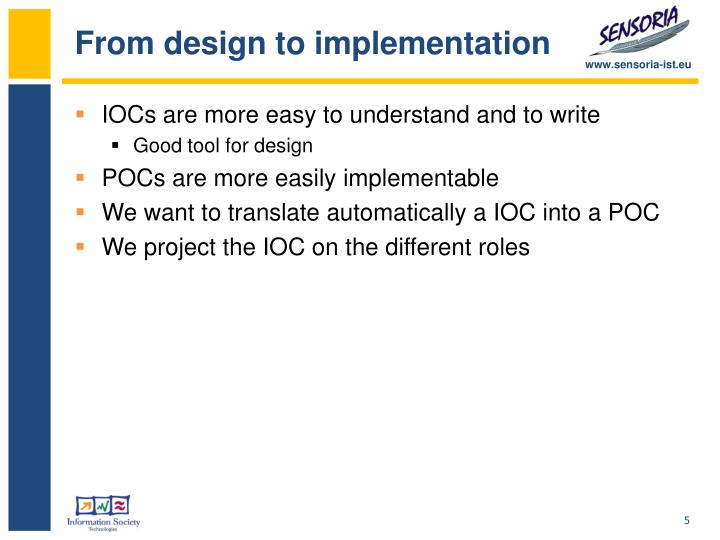 From design to implementation