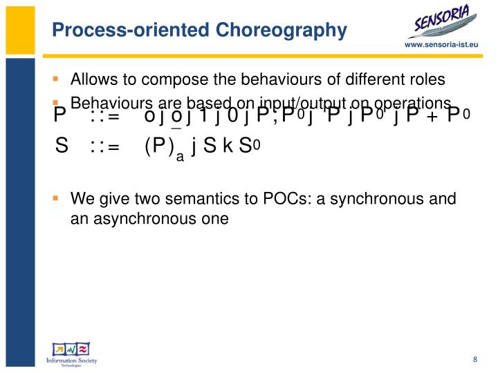 Process-oriented Choreography
