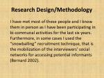 research design methodology1