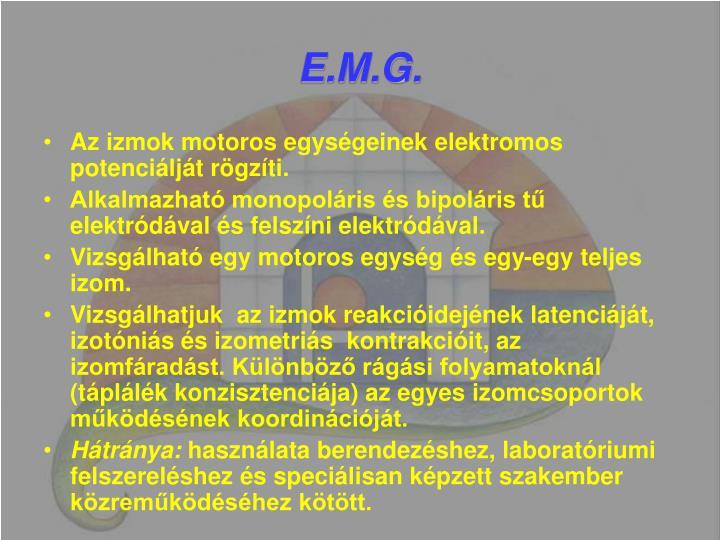 E.M.G.