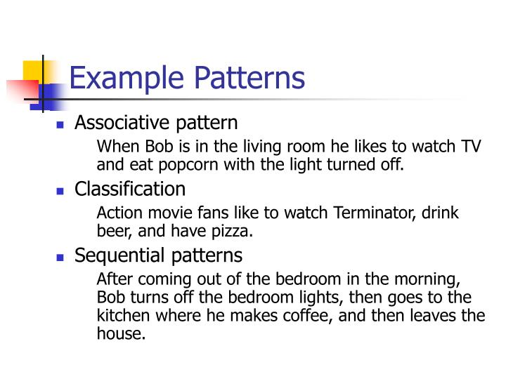 Example Patterns
