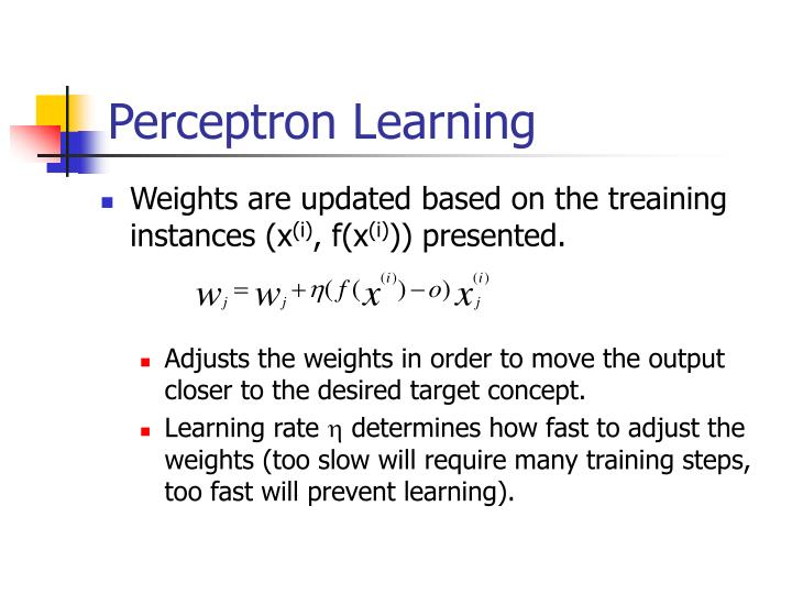 Perceptron Learning