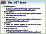 the net team