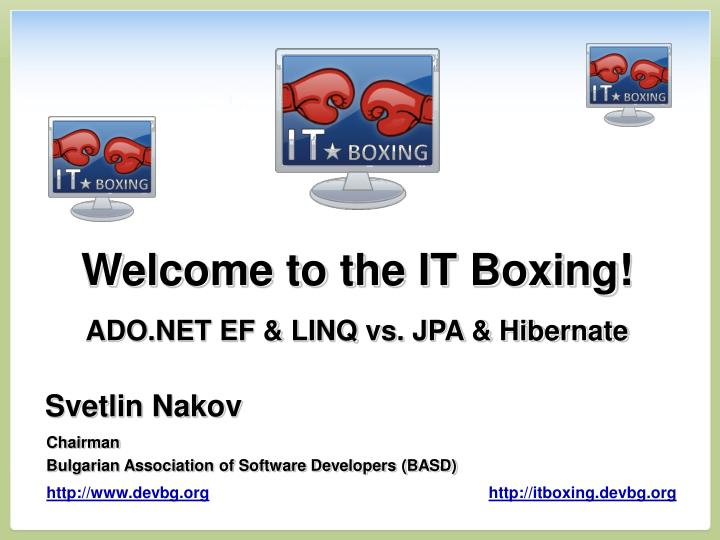 welcome to the it boxing n.