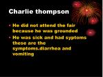 charlie thompson