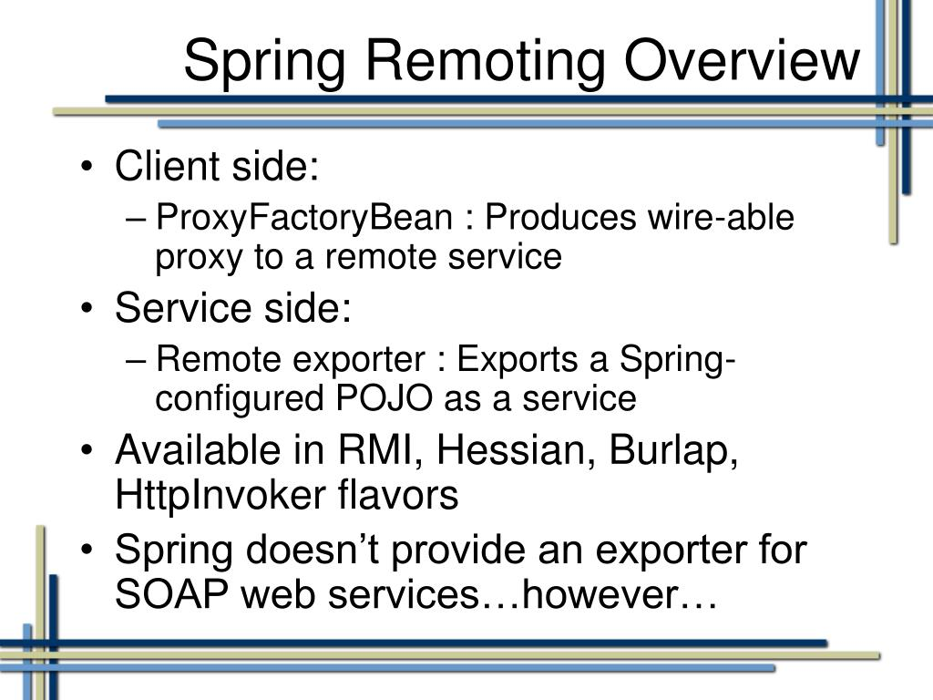 PPT - Contract-First Web Services with Spring-WS PowerPoint