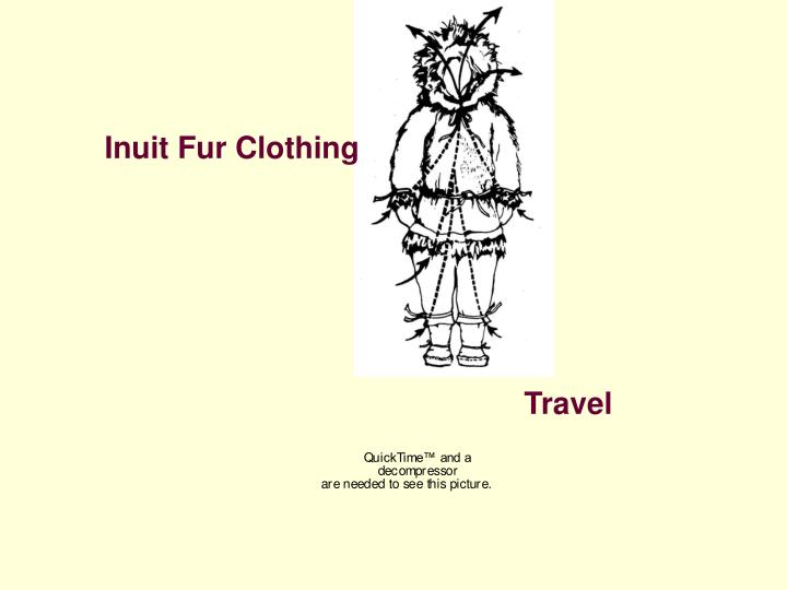 Inuit Fur Clothing
