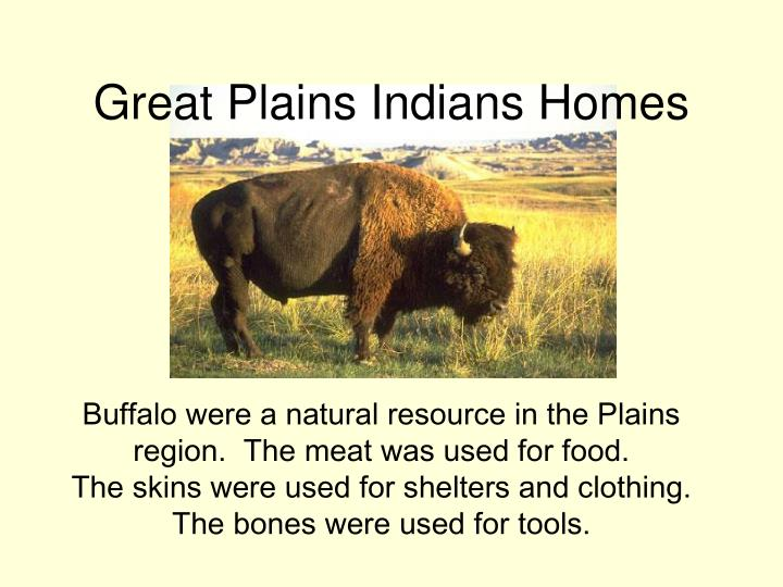 Great Plains Indians Homes