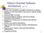 pattern oriented software architecture ref 4 8