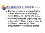 the beginning of patterns ref 4 7
