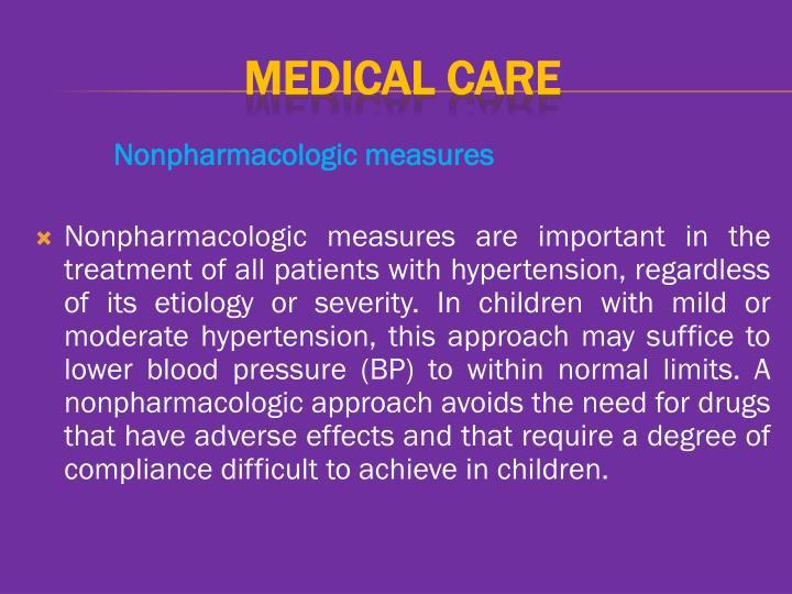 Nonpharmacologic