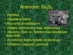 antimonit sb 2 s 3
