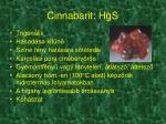 cinnabarit hgs