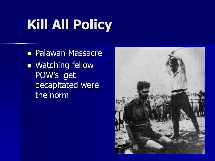 Palawan Massacre