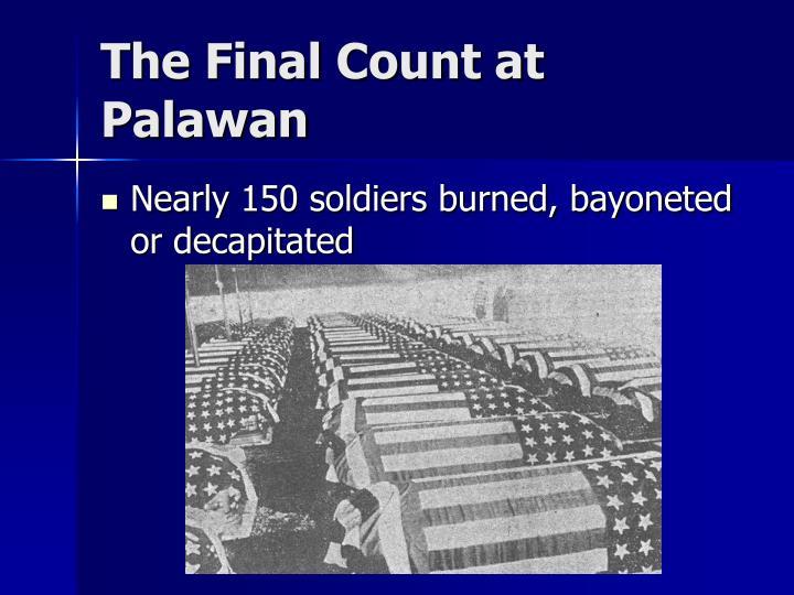 The Final Count at Palawan