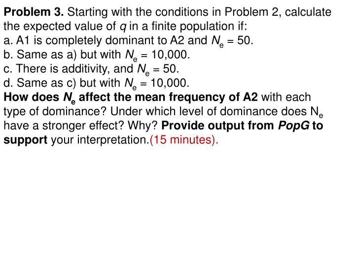 Problem 3.