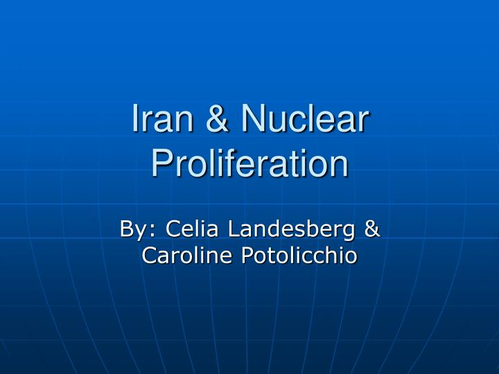 u s nuclear non proliferation policy towards iran essay Foreign policy - nuclear iran title length color rating : nuclear iran essay - nuclear iran should united states confront iran for its behaviors for enriching uranium for decades the extremist islamic regime of iran has been the number one enemy of us and its allies particularly, israel.