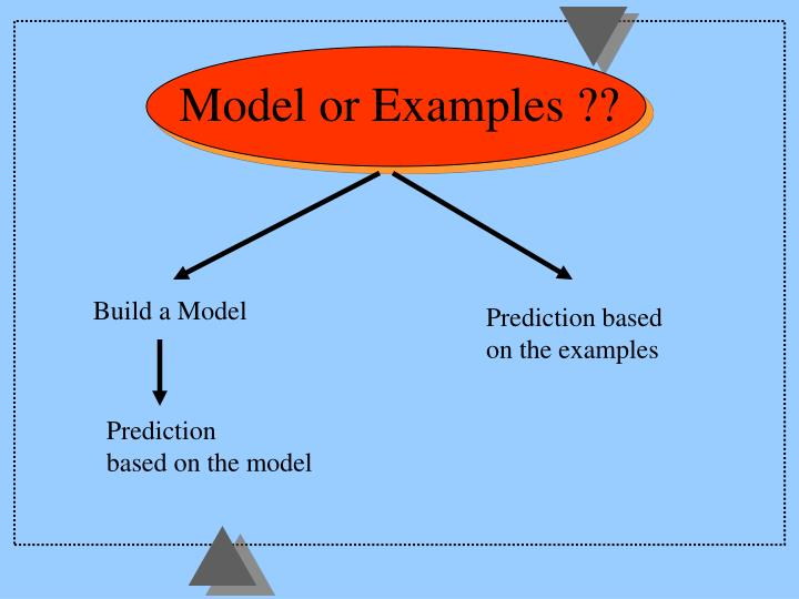 Model or Examples ??