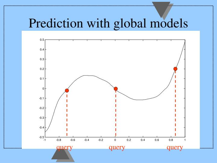 Prediction with global models