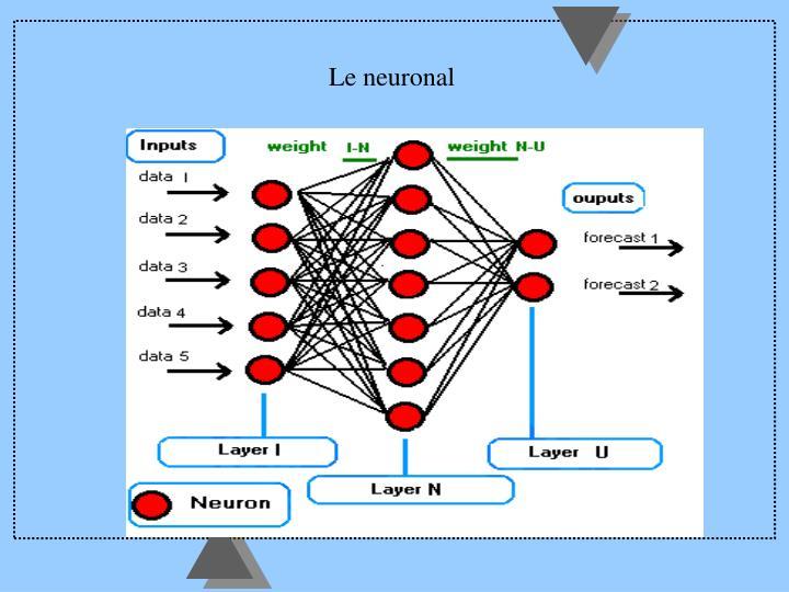 Le neuronal