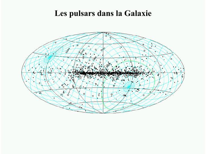Les pulsars dans la Galaxie