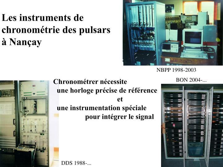 Les instruments de