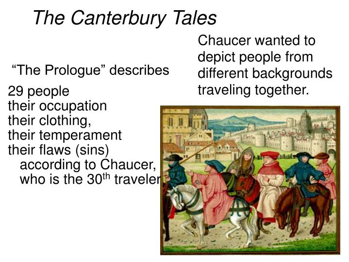 the corruption in the church in the medieval period as depicted in the canterbury tales by geoffrey  Title page of geoffrey chaucer's canterbury tales in the hand of adam pinkhurst, c1400  exposing church corruption in the  and medieval psychology in the.