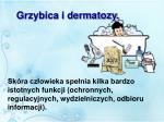 grzybica i dermatozy
