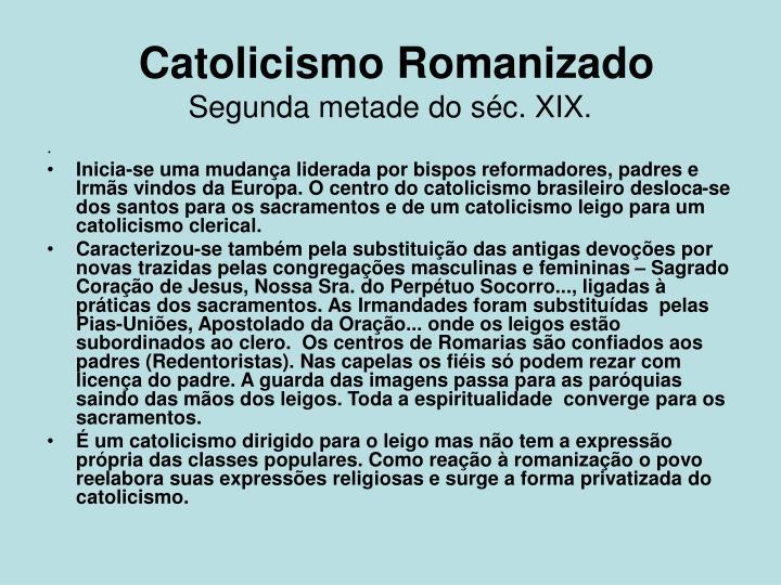 Catolicismo Romanizado