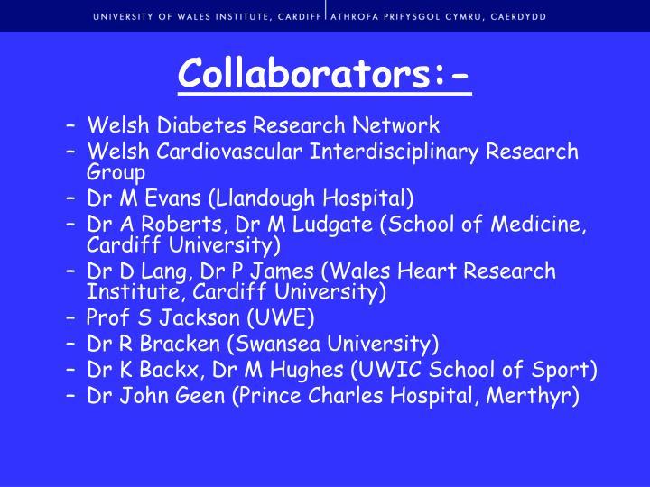 Collaborators:-