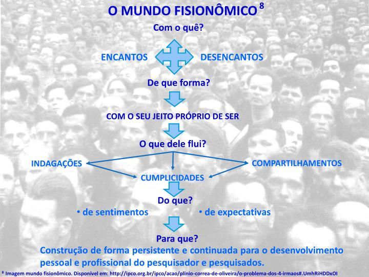O mundo fisionômico