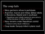 the coup fails