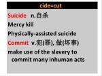 cide cut1