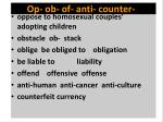 op ob of anti counter