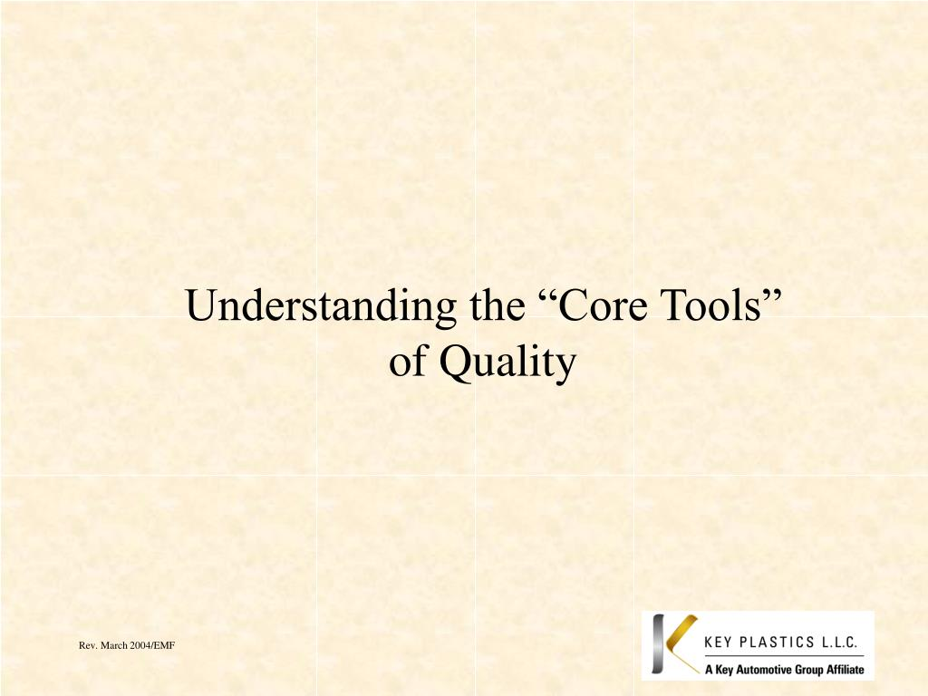 Ppt Understanding The Core Tools Of Quality Powerpoint Process Flow Diagram Ts 16949 Presentation Id4733805