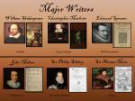 major writers