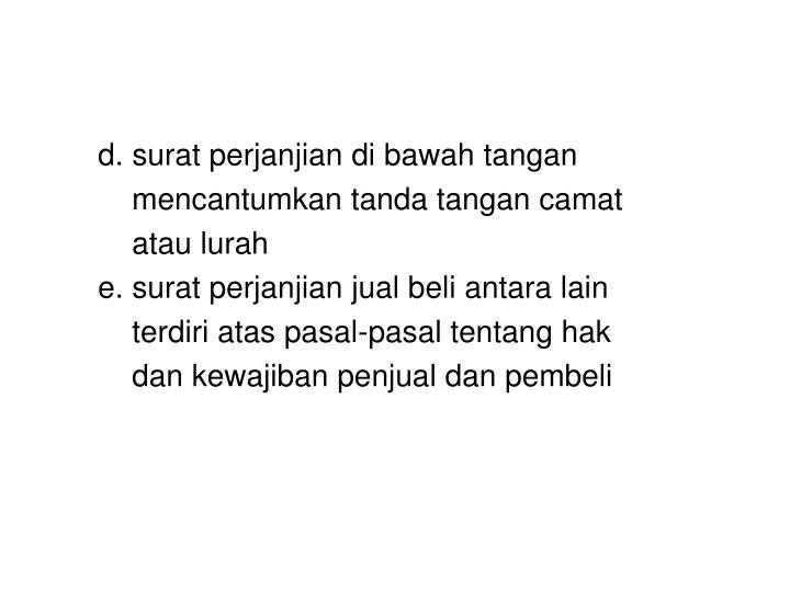 Ppt Bahasa Indonesia Surat Kuasa Surat Perjanjian Powerpoint