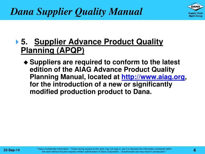 apqp manual latest edition pdf