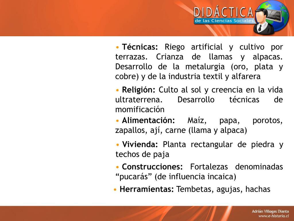 Ppt Contenido 01 Pueblos Aborígenes De Chile Adrián