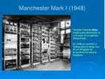 manchester mark i 1948