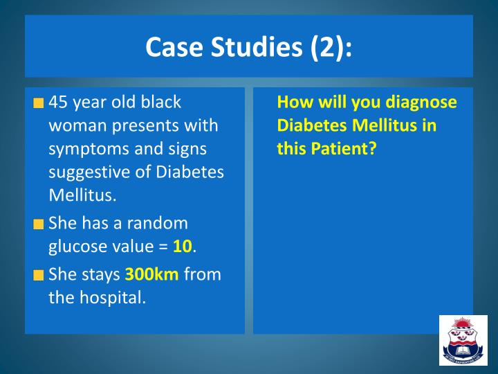 Case Studies (2):