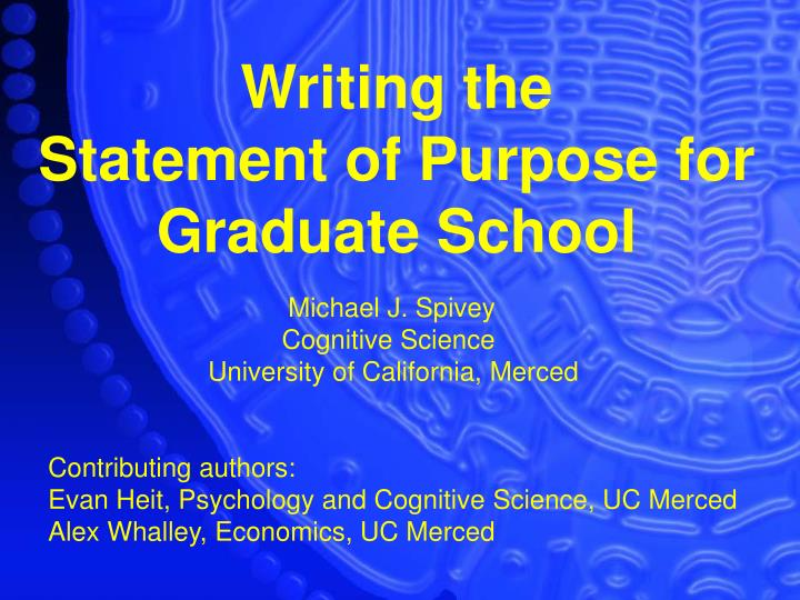 personal statement cognitive science