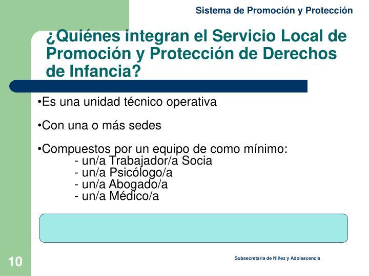 Sistema de Promoción y Protección