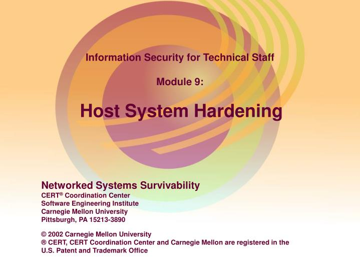 the operating system hardening issues and practices information technology essay Operating system hardening on basic security settings and provides information on remediating any issues 2001-2011 information technology.
