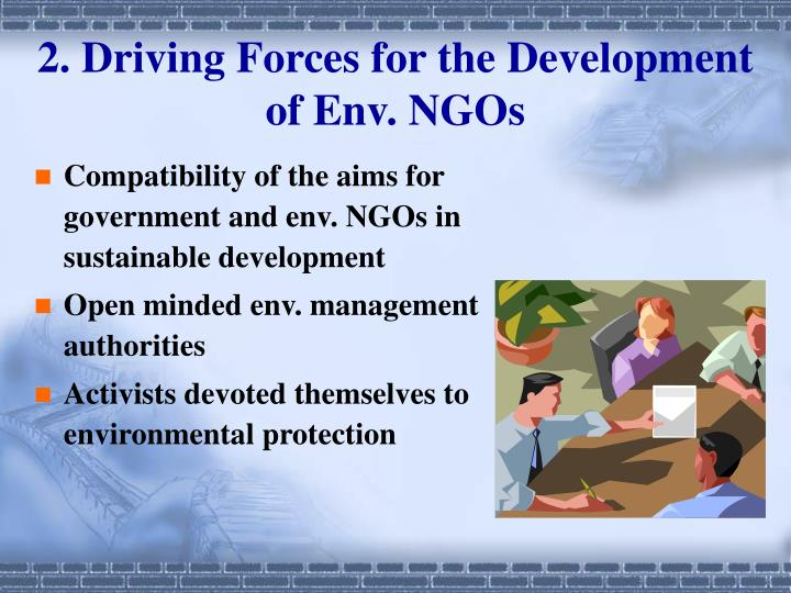 role of ngo in environmental management The role and impact of ngos in capacity development cemd centre for education management and development ingo international non-governmental organization.