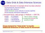 data grids data intensive sciences