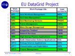 eu datagrid project