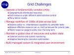 grid challenges